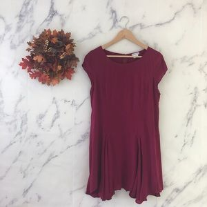 Cooperative Hanky Hem Trapeze Swing Dress